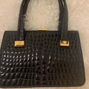 Authentic 90s vintage Gianni Versace crocodile